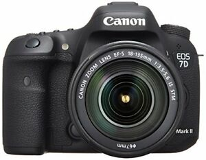 Canon DSLR camera EOS 7D Mark II EF-S18-135 IS STM lens kit EF-S18-135mm