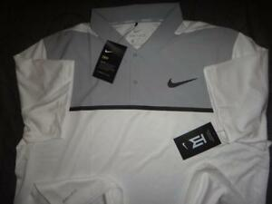 NIKE TIGER WOODS GOLF DRI-FIT POLO SHIRT SIZE  2XL XL MEN NWT $$$$
