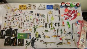 NICE TACKLE BOX LOADED WITH GEAR LURES SPINNERSETC.