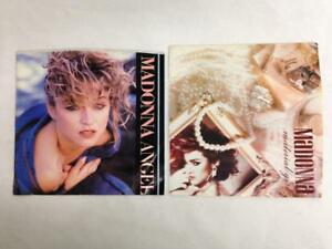 Lot of 2 MADONNA 45 RPM Vinyl Records with Pic Sleeves: Angel Material Girl NM $5.97