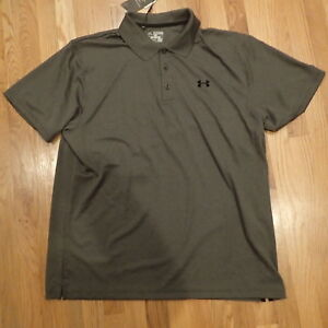 NWT Loose Under Armour Mens Dark Grey Shirt Top Size xl extra large Sporty   $50