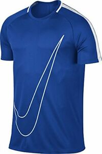 Nike Men's Dri-fit Academy Swoosh Soccer Shirt Paramount Blue (832985-452)  W