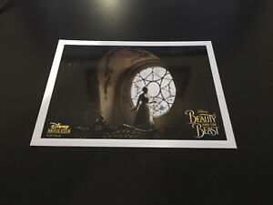 Disney Lithographs Beauty and the Beast Live version $10.00