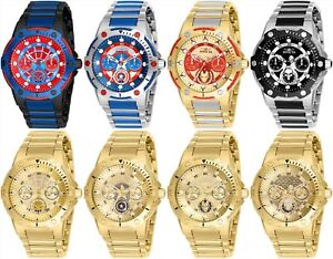 Invicta Marvel Women's Day-Date 24H 39mm Watch - Choice of ColorMarvel