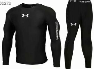 Under Armour Mens Cold Gear Long Tight and Long Sleeve Compression NEW MODEL $34.99