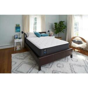 Sealy 13 In. Queen Cushion Firm Faux Euro Top Mattress Bed Bedroom Accessory New