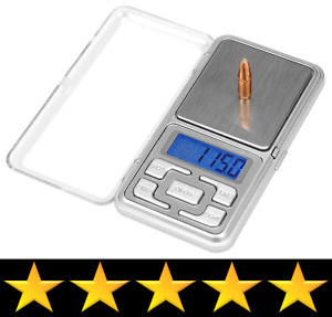 Frankford Arsenal DS750 Digital Reloading Scale Measures Grain Gram Carats Ounce