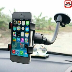 360° Car Windshield Mount Cradle Holder Stand For Mobile Cell Phone GPS iPhone x $6.55