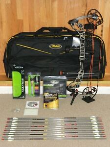Loaded Right Handed Mathews Halon 6 Under Armour Bow Package- Halon6- Most DL