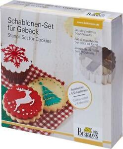 Christmas Stencil and Cookie Cutter Set