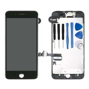 For iPhone 7 Plus Black Replacement LCD Screen Digitizer Full Assembly Camera