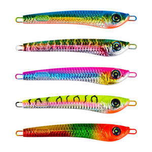 5Pcs Micro Jigs Butterfly Metal Jig Fishing Lure Snapper King Tuna Slow Lure