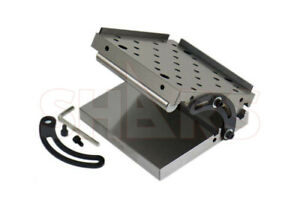 SHARS 6x6x2quot; PRECISION ANGLE SINE PLATE .0002quot; NEW R} $114.80