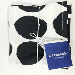 MARIMEKKO FOR TARGET NAPKINS 4 COUNT BLACK & WHITE NEW WITH TAGS