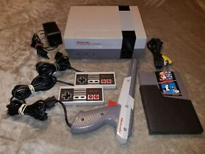 Nintendo NES System Console W Super Mario Bros & Duck Hunt **Cleaned 72 Pin**