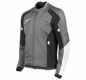 Speed & Strength Men's Sure Shot Textile Jacket 2XL WhiteBlack 1101-0214-9056