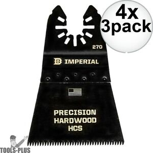 Imperial Blades IBOA270 3pk ONE FIT 2-12