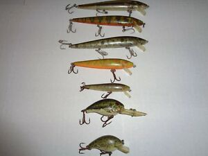 ( Lot Of 7)  Rebel Fishing Lures