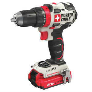 Porter Cable PCCK607LBR 20V MAX 1 2quot; Drill Driver Kit Certified Refurbished $87.99