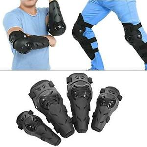 Knee & Shin Protection 4 Pcs Motorcycle Motocross Cycling Elbow And Pads Guards