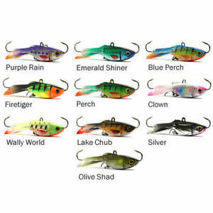 ACME HYPER GLIDE ICE FISHING WALLEYE PERCH PIKE JIG LURE CHOICE COLOR AND SIZE