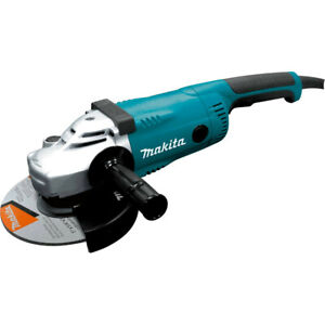 Makita 7 in. Trigger Switch 15 Amp Angle Grinder GA7021 New $139.99