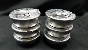 SoftLead Ingots 8 Lbs from Lead Pipe Cleaned Fluxed for Bullets Sinkers Crafts