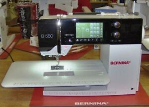 Bernina 580 Sewing Machine & Embroidery Unit