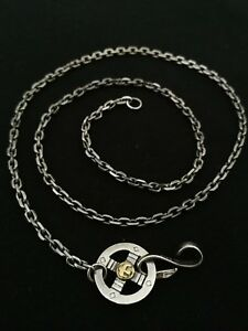 Goro's Sterling 925 Silver Necklace Chain 50cm long