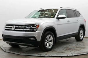 2018 Volkswagen Atlas SE 4Motion E AWD 3rd Row 3.6L V6 R Camera Htd Seats Bluetooth 18in Alloys Must See Save
