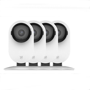 YI 4pc 1080p Home Wireless IP Security Camera System w Night Vision