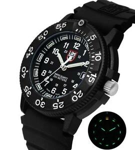 Luminox A.3001  XS.3001 Navy Seal Colormark 3000 Series Rubber 44mm Men's Watch