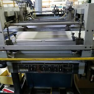 MAKE OFFER - 24x36 Screen Press - AS IS