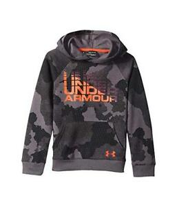 Under Armour Fleece Boys Hoodie - Charcoal - #1318222 - Youth XL - NEW!