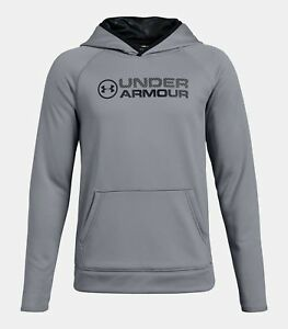 Under Armour Fleece Boys Hoodie - Steel - #1314080 - Youth XL - NEW!