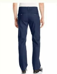 Mens size 32 Navy UNDER ARMOUR Performance Golf Chino Straight Leg NWT $200