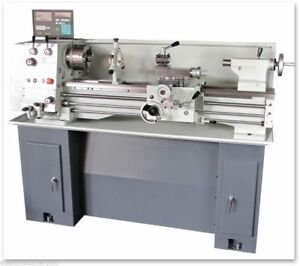 EISEN 1236GH Bench Lathe with DRO TTA & Stand 3-Phase 220V Taiwan Made