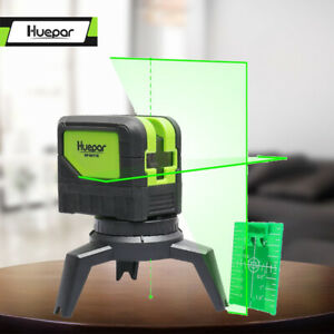 Cross Line Laser Level beam With 2 Dots point Vertical Horizontal Self leveling