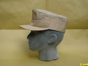 WW2 German Wehrmacht Africa DAK Officer's Tropical Straw Hat Repro