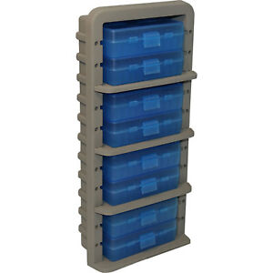 MTM Case-Gard Ammo Rack with Eight 9mm Handgun Ammo Boxes AR9M