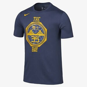Kevin Durant City Edition Nike Dry Fit Tee AO0886-472 Thunder Blue Mens T Shirt