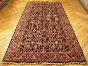 6x10 Gallery Size New Hi quality Handmade Rug Black WARM COLORS