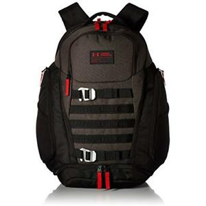 Casual Daypacks Under Armour Huey BackpackBlack (003)Red One Size Sports