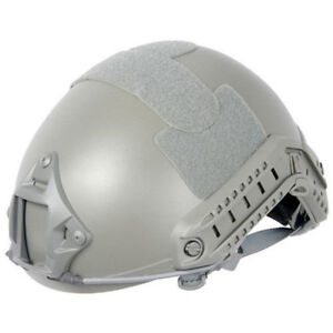 Lancer Tactical Airsoft Fast Helmet - Foliage Green - New - CA-739G