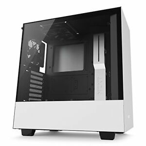 Nzxt CA-H500B-W1 H500 No Power Supply Atx Mid Tower (matte White) (cah500bw1)