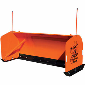 ScoopDogg Snow Pusher for Smaller AgCompact Tractors - 8Ft.L Model# 2604008
