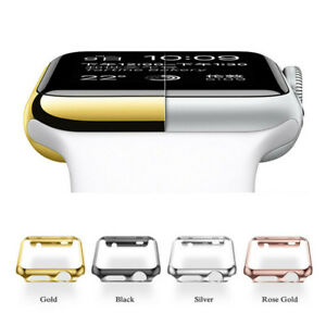Full Body Cover Snap Case+Screen Protector For Apple Watch Series 4 40mm  44mm