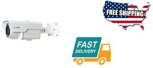 Security Home House Tools  IP License Plate Camera 5-50mm. White Design Color