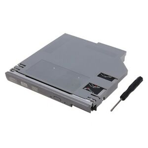 SATA 2nd HDD Bay Caddy Adapter for Dell Latitude D600 D610 D620 D630 D810 Silver