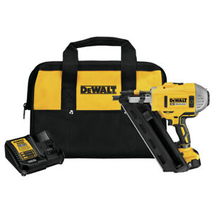 DEWALT 20V MAX XR Dual Speed Framing Nailer Kit DCN692M1 New